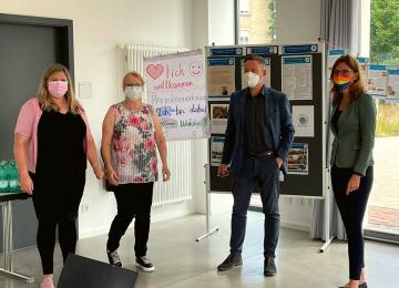 """Sabine Bätzing-Lichtenthäler war anlässlich der diesjährigen Sommerreise zu Gast bei der Initiative """"Ich bin dabei"""""""